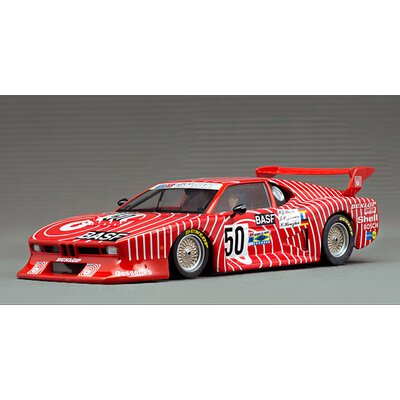 Scaleauto BMW M1 Gr.5, Nr.50, Le Mans 1981 R-Chassis