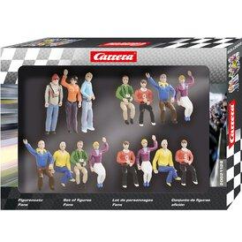 Carrera Figurensatz Fans 21128