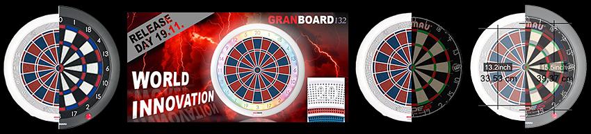 Gran Darts Gran Board 132
