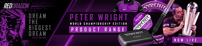 Red Dragon Peter Wright World Champion 2020 E