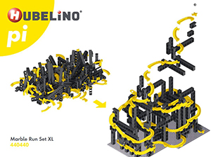 Bauanleitung / Montageanleitung Hubelino Kugelbahn Set XL 440440