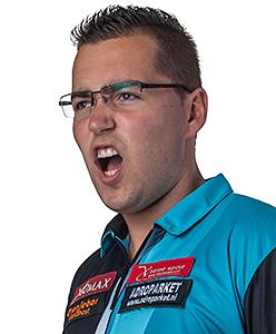 Dart Spieler Benito van de Pas XQMax Darts