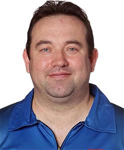 Dart Spieler Brendan Dolan Winmau