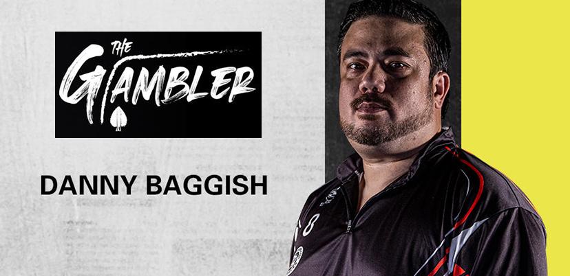 Dart Spieler Danny Baggish Target