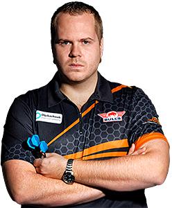 Dart Spieler Dirk van Duijvenbode Bull´s