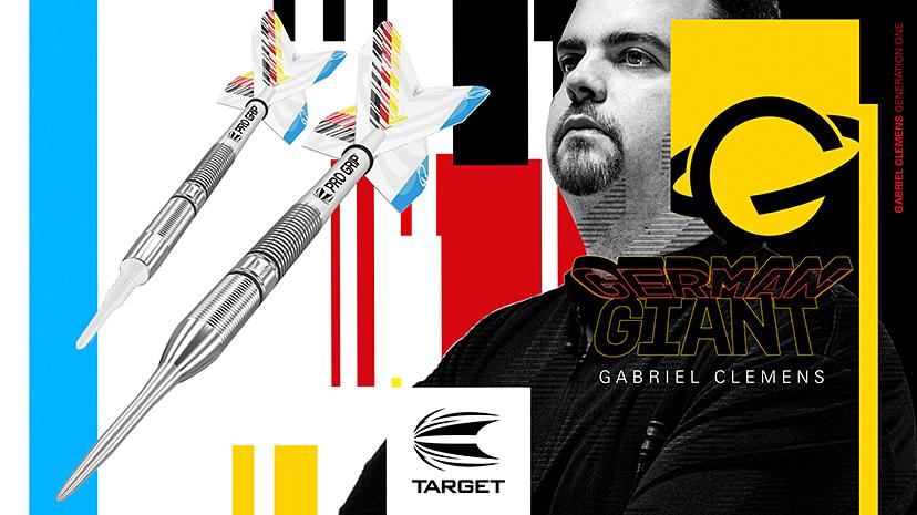 Dart Spieler Gabriel Clemens Target