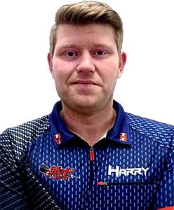 Dart Spieler Harald Leitinger Shot Darts