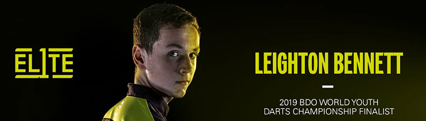 Dart Spieler Leighton Bennett Target