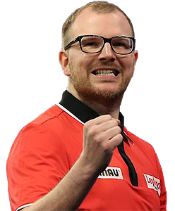 Dart Spieler Mark Webster Winmau