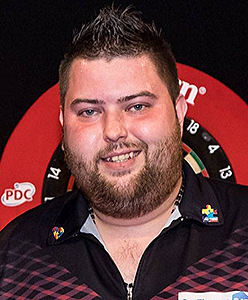 Dart Spieler Michael Smith unicorn