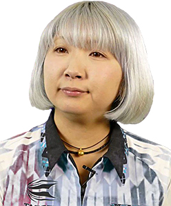 Dart Spielerin Mikuru Suzuki Target