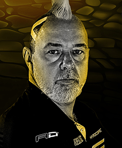 Dart Spieler Peter Wright Red Dragon