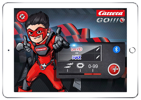 Carrera GO!!!+ Plus App mit Tablet