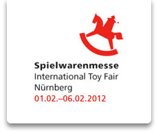 Termin der Spielwarenmesse International Toy Fair Nürnberg 01.02.-06.02.2012