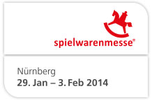 Termin der Spielwarenmesse International Toy Fair Nürnberg 29.01.-03.02.2014